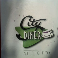 Photo taken at City Diner at the Fox by Steph B. on 7/27/2012