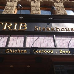 Photo taken at Trib Steakhouse by Diadem on 7/18/2012