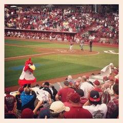 Photo taken at Carolina Stadium by David S. on 6/11/2012