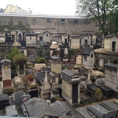 Photo taken at Cimetière de Montmartre by Tom E. on 4/28/2012
