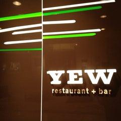 Photo taken at YEW seafood + bar by Rick B. on 2/29/2012