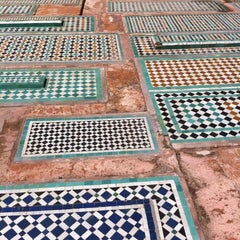 Photo taken at Saadian Tombs | قبور السعديين by Alfred V. on 4/5/2012