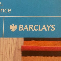 Photo taken at Barclays by Alionka T. on 3/30/2012