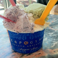 Photo taken at Capogiro by Ying S. on 6/23/2012