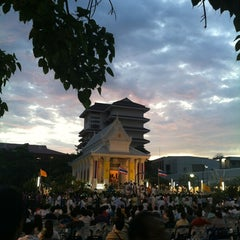 Photo taken at Rama IX Golden Jubilee Temple by Pakorn P. on 3/7/2012