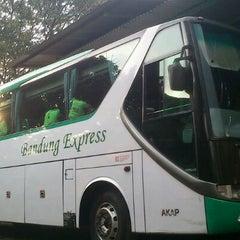 Photo taken at Bandung Express Bus Terminal by Tsani S. on 7/5/2012