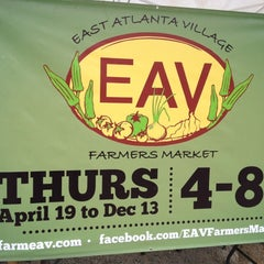 Photo taken at East Atlanta Village Farmers Market by Robert M. on 5/31/2012