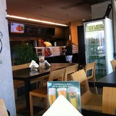 Photo taken at Bobo Souvlaki House by Chasapis A. on 8/26/2012