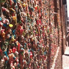 Photo taken at Gum Wall by Stephanie L. on 4/6/2012