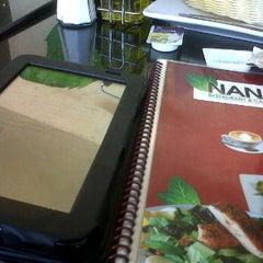 Photo taken at Nana Cafe by Ale T. on 6/24/2012