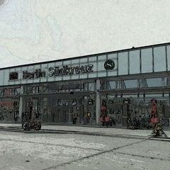 Photo taken at Bahnhof Berlin Südkreuz by Andreé M. on 5/21/2012