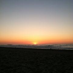 Photo taken at Belmar Beach by Sara on 6/15/2012
