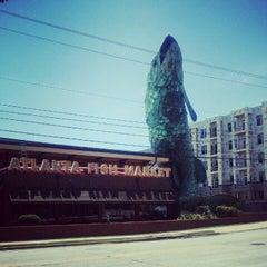 Photo taken at Atlanta Fish Market by Laura D. on 7/29/2012