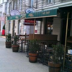 Photo taken at A. Blikle by Rafal K. on 8/21/2011