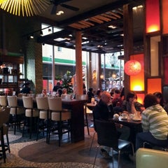 Photo taken at Las Iguanas by Beth D. on 12/3/2011