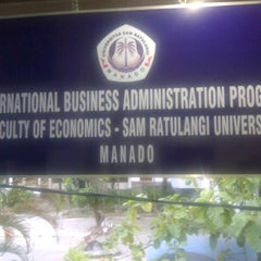 Photo taken at International Business Administration (IBA) by dJero on 7/20/2012