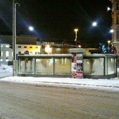 Photo taken at Erottajan paviljonki by Markku S. on 1/28/2012