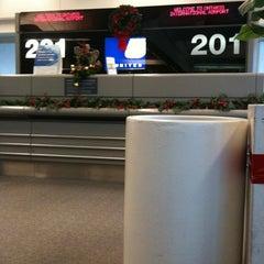 Photo taken at Gate 201 by David W. on 12/21/2010