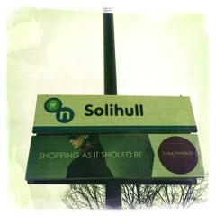 Photo taken at Solihull Railway Station (SOL) by Paddy 🐺🐺 on 2/21/2012