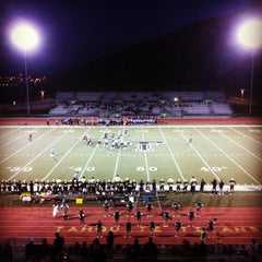 Photo taken at Tahquitz High School by Crystal S. on 8/25/2012