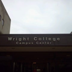 Photo taken at Wilbur Wright College by Dan I. on 8/13/2012
