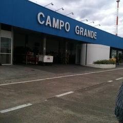 Photo taken at Aeroporto Internacional de Campo Grande (CGR) by Rodrigo C. on 5/26/2012