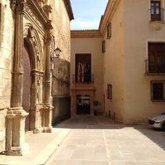 Photo taken at Hospederia de La Iglesuela Del Cid by Migue M. on 3/31/2012