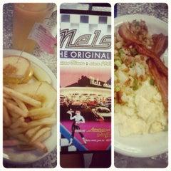 Photo taken at Mel's Diner by Antha F. on 10/25/2011