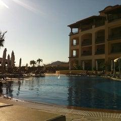 Photo taken at Pueblo Bonito Sunset Beach Resort & Spa by Mia K. on 10/14/2011