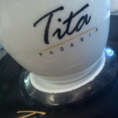 Photo taken at Padaria Lady Tita by Fernando N. on 8/17/2012