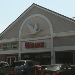 Photo taken at Wawa by Jessica K. on 7/6/2012