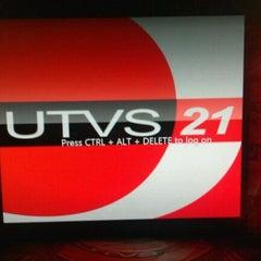 Photo taken at UTVS Television by Jenny S. on 12/30/2011