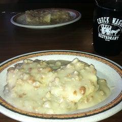 Photo taken at Chuck Wagon Restaurant by Melissa G. on 3/30/2012