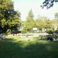 Photo taken at Washington Park by Leila I. on 9/11/2011