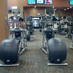 Photo taken at LA Fitness by Laura L. on 9/3/2011