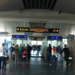 Photo taken at RIX | Terminal D by Ivan L. on 9/10/2012