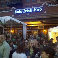 Photo taken at Fadó Irish Pub & Restaurant by Byron C. on 3/13/2011