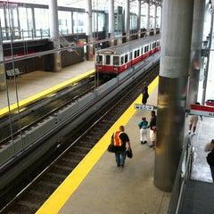 Photo taken at MBTA Ashmont/Peabody Square Station by Matthew C. on 7/7/2011