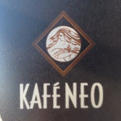 Photo taken at Kafe Neo by Steve on 8/12/2012