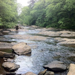 Photo taken at Chattahoochee River NRA - Sope Creek by Roy B. on 5/5/2012