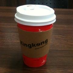 Photo taken at KingKong 커피 by Carol P. on 12/23/2011