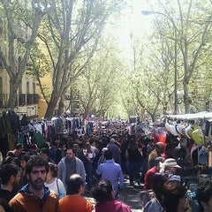 Photo taken at Rastro de Madrid by clkwise on 4/8/2012
