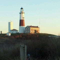Photo taken at Montauk Point Lighthouse by Marc S. on 12/26/2011