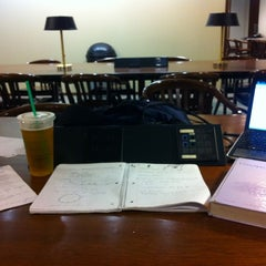 Photo taken at William T. Young Library by Devin K. on 11/22/2011
