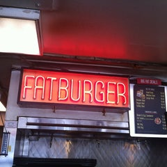 Photo taken at Fatburger by James T. on 1/30/2012