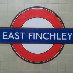 Photo taken at East Finchley London Underground Station by Sergiu S. on 12/5/2011