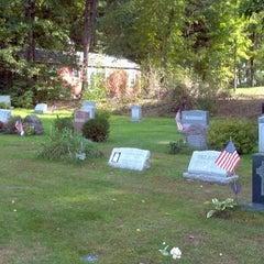 Photo taken at Stockbridge Cemetery by Peter W. on 9/19/2011