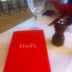 Photo taken at Freds by David W. on 11/6/2011