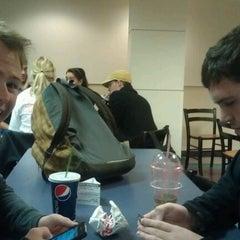 Photo taken at Sbisa Underground Food Court by Ian F. on 11/29/2011