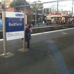 Photo taken at Redfern Station (Concourse) by Tanapat S. on 8/22/2011